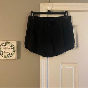 Athleta Black Running Shorts Size Small